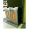 不銹鋼二分類資源回收桶(TH2-88SR)