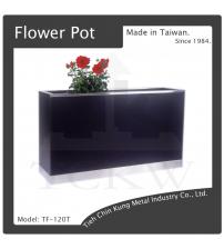 (TF-120T) 烤漆花台(黑色)