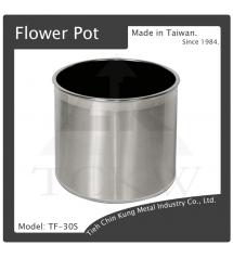(TF-30S) 不銹鋼花盆