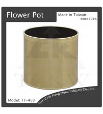 (TF-45B) 銅花盆