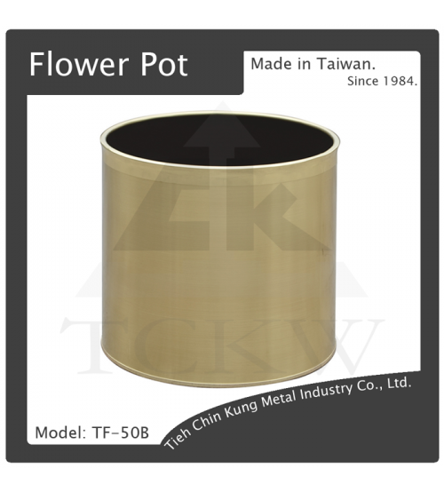 (TF-50B) 銅花盆