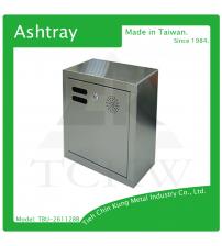(TBU-261128B) 壁掛式不銹鋼煙灰缸