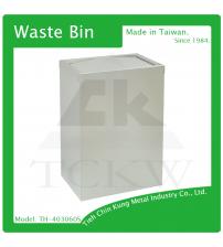 (TH-403060S) 不銹鋼搖擺式垃圾桶(無內桶)