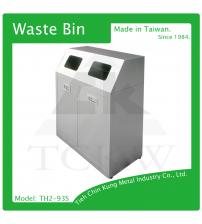 (TH2-93S) 不銹鋼二分類資源回收桶