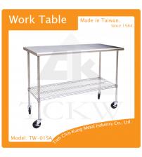 (TW-01SA) 不銹鋼工作桌