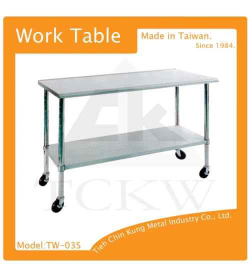 (TW-03S) 不銹鋼工作桌