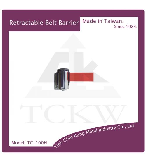 (TC-100H) 不銹鋼壁掛式伸縮圍欄