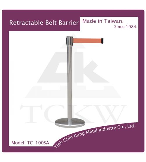 (TC-100SA) 不銹鋼伸縮圍欄