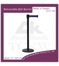 (TC-100T-PC) 黑色烤漆伸縮圍欄