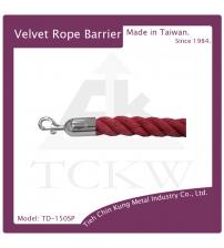 (TD-150SP) 編織繩-電鍍勾頭