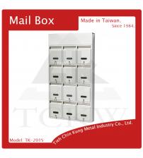 (TK-201S) 不銹鋼連結信箱
