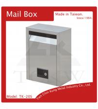 (TK-20S) 不銹鋼信箱(小)