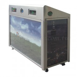 (SSR-001) 太陽能三分類資源回收桶